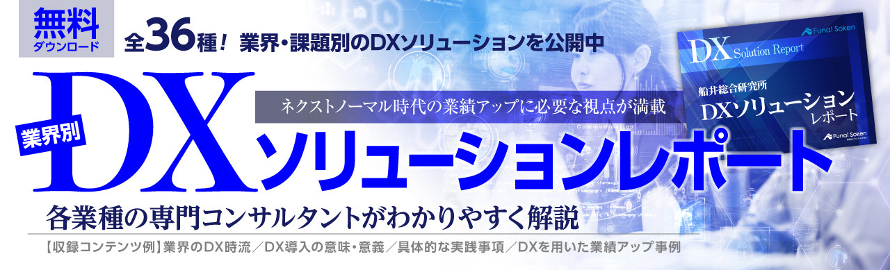 DXソリューションレポート